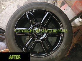 Alloy Wheel Colour Change After