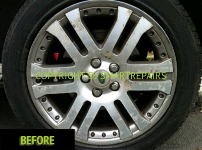 Alloy Wheel Repair Before