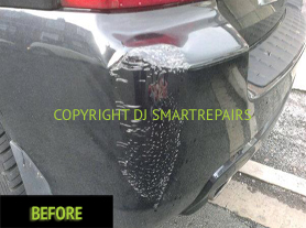 Car Bumper Repairs Before