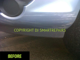Car Bumper Repairs Before2