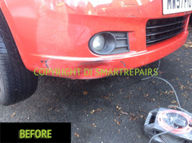 Car Dent Repair Before